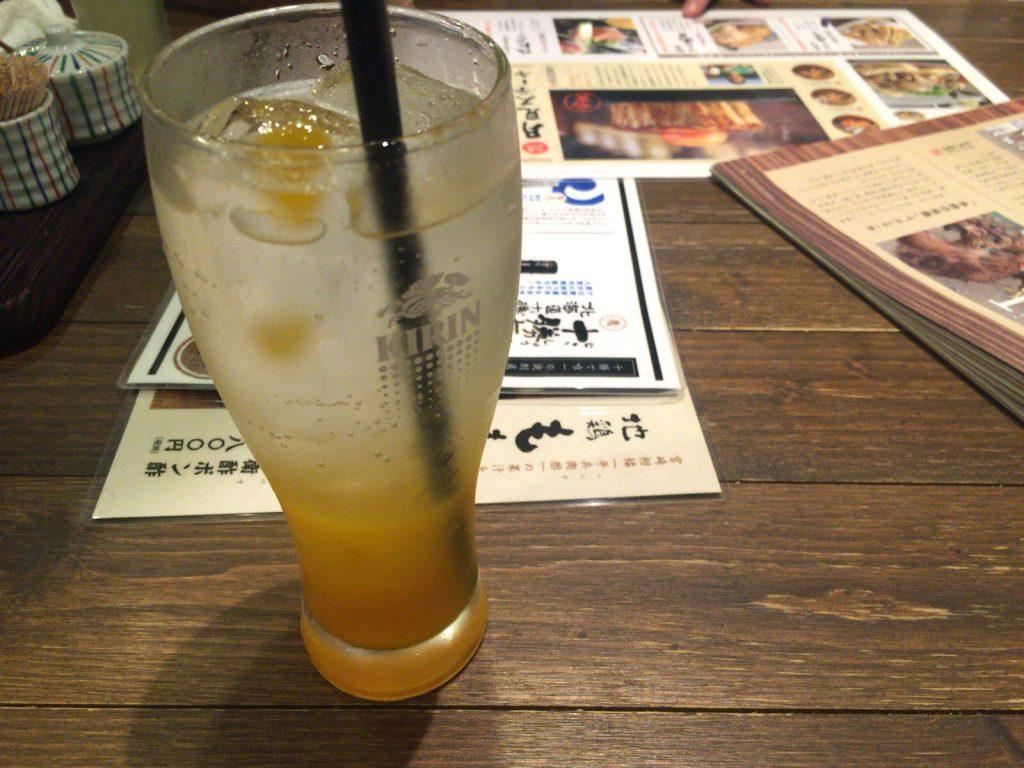 宮崎マンゴーソーダ