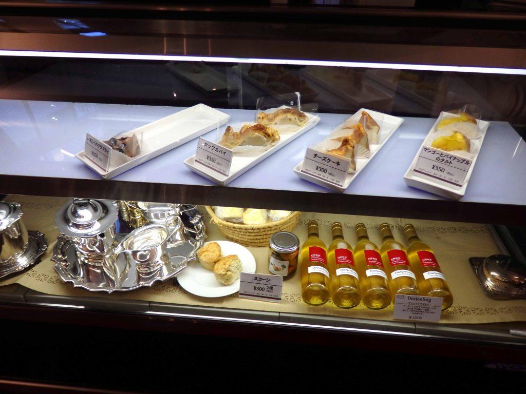 豊平館 カフェのケーキ
