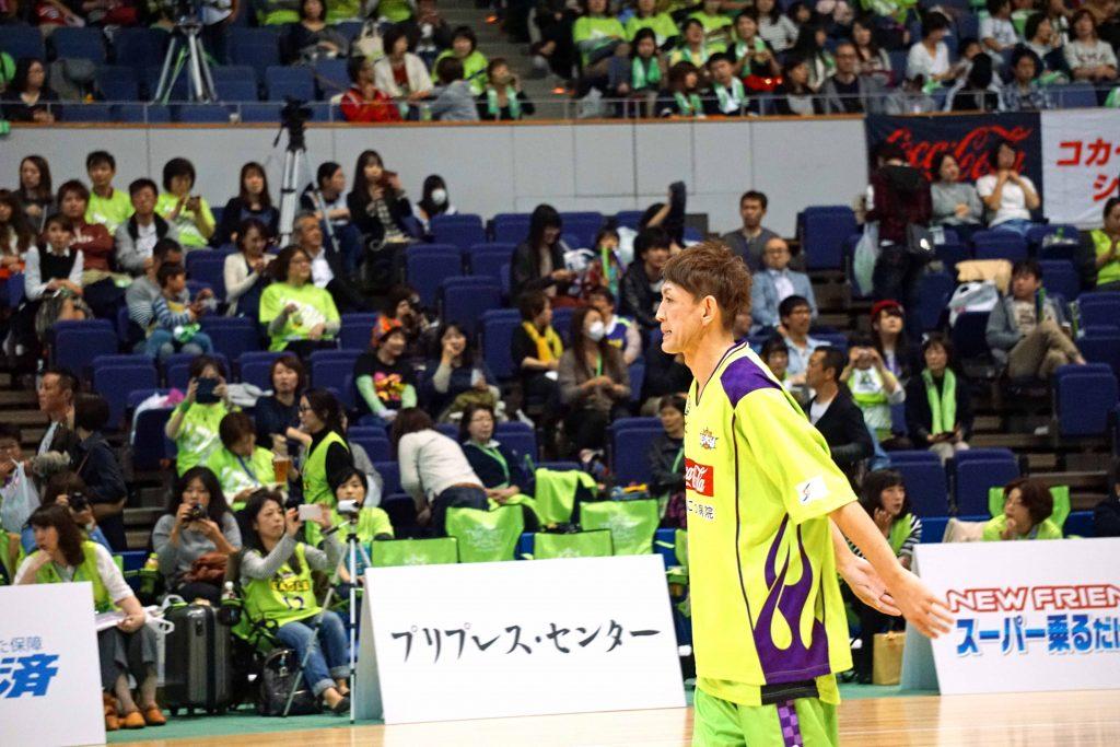北海道・#9折茂武彦選手