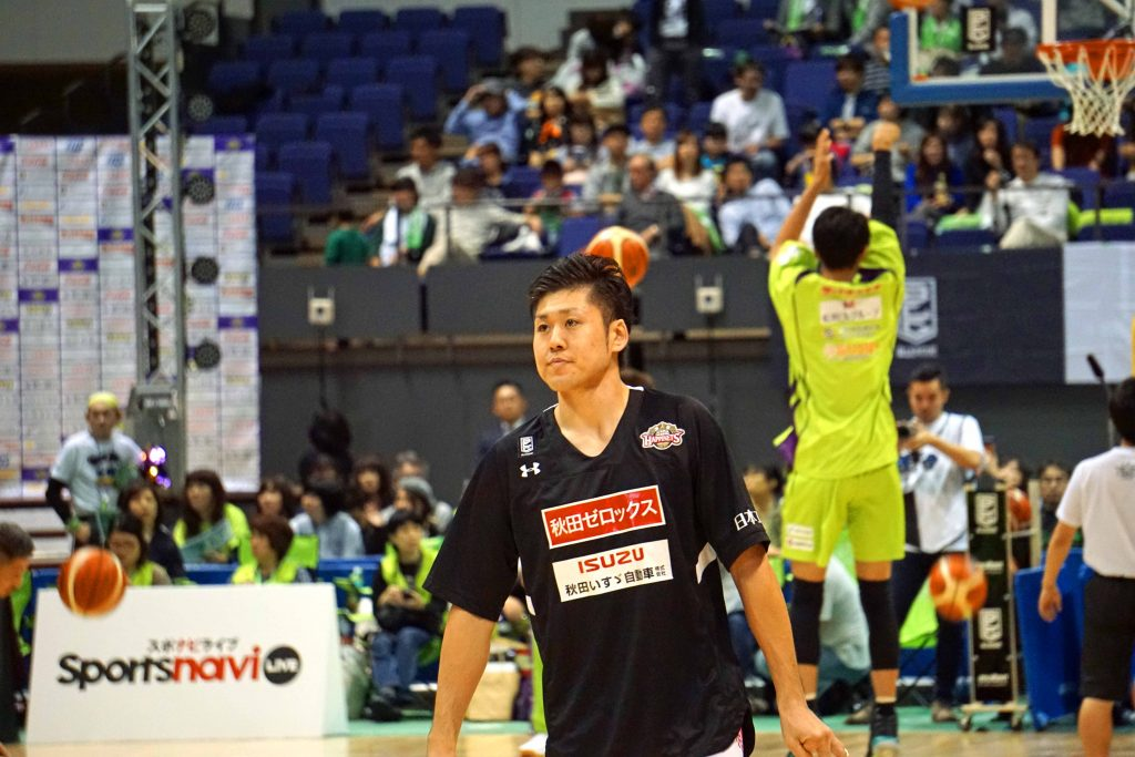 秋田・#5田口成浩選手