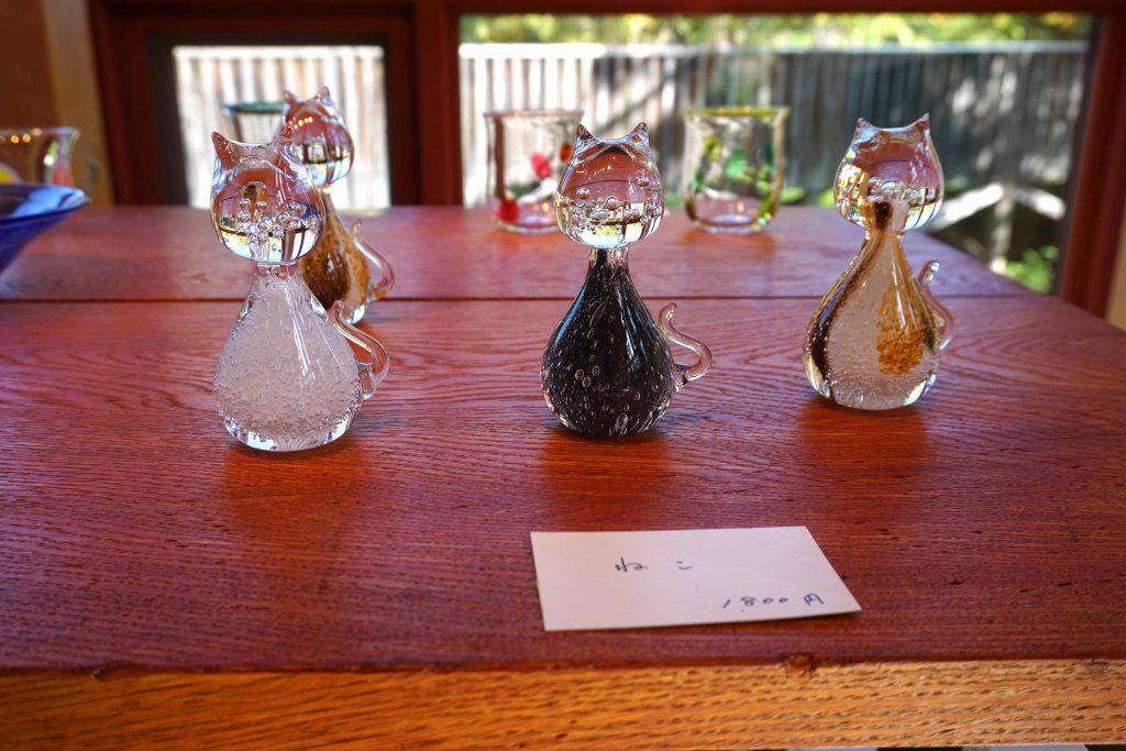ギャラリーガラスの森展 「ねこ」