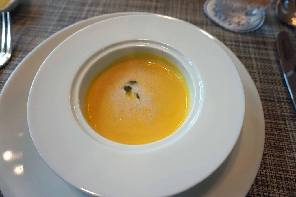 南瓜のクリームスープ シナモン風味