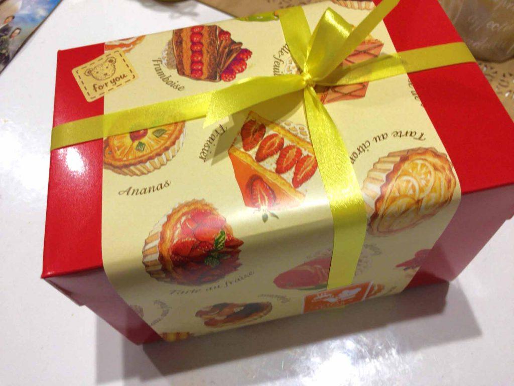 プレゼントのパッケージ