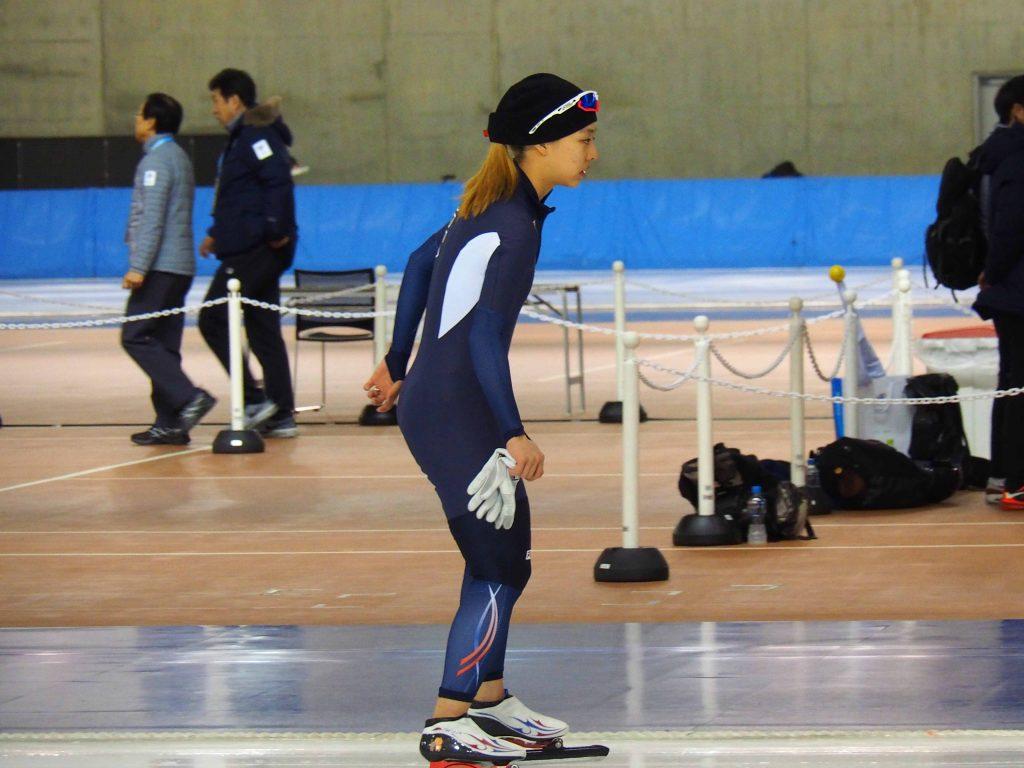 キム選手(韓国)