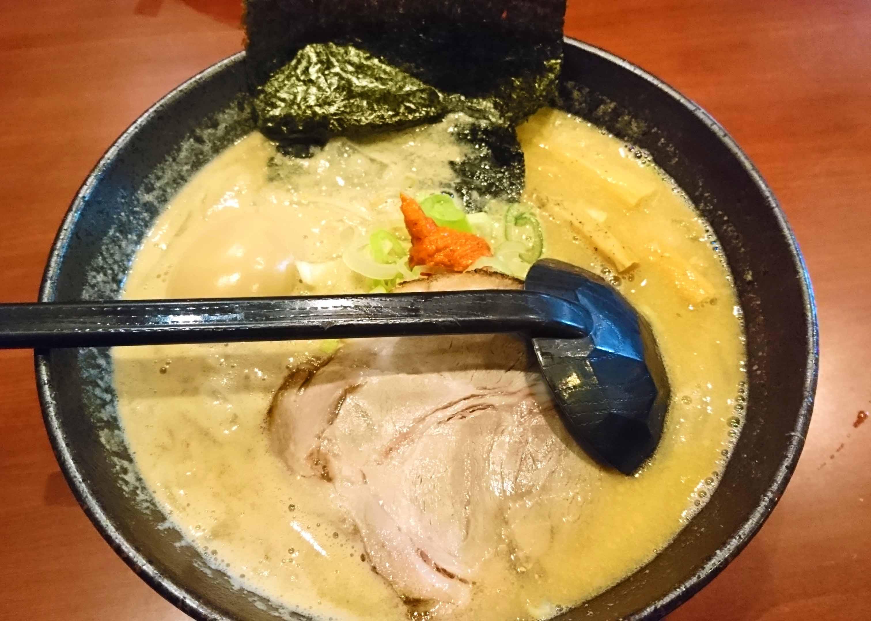【北海道・札幌】「北海道らーめん奥原流 久楽 本店」に行ったよ♪ ~夜遅くまでやっているらーめん屋さん、居酒屋的な使い方もありだね~